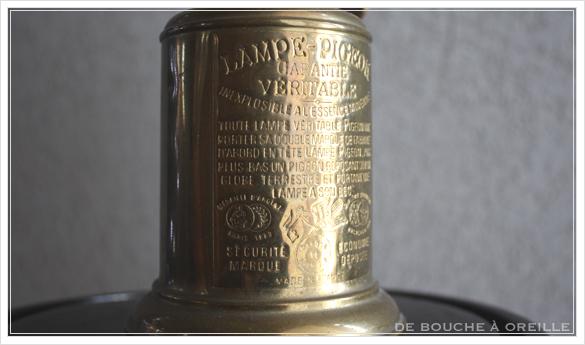 "lampe a essence \""PIGEON\"" 古いオイルランプ ピジョン フランスアンティーク_d0184921_14362209.jpg"