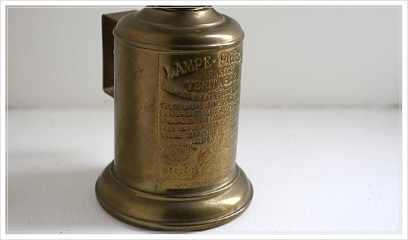 "lampe a essence \""PIGEON\"" 古いオイルランプ ピジョン フランスアンティーク_d0184921_14454760.jpg"