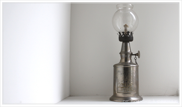 "lampe a essence \""LA MERVEILLEUSE\"" 古いオイルランプ ピジョン フランスアンティーク_d0184921_15480629.jpg"