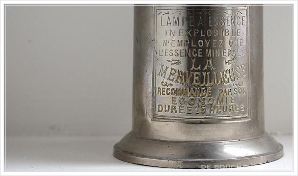 "lampe a essence \""LA MERVEILLEUSE\"" 古いオイルランプ ピジョン フランスアンティーク_d0184921_15511517.jpg"