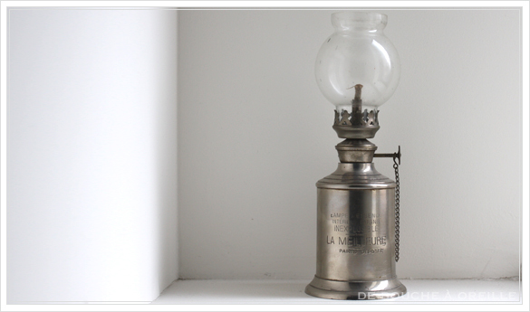 "lampe a essence \""LA MERVEILLEUSE\"" 古いオイルランプ ピジョン フランスアンティーク_d0184921_15570690.jpg"