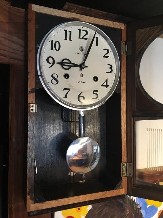 大きくない、のっぽでもない、古時計。_d0386342_09254698.jpg