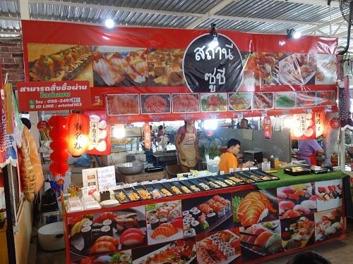 パタヴィコーン市場でコーイシーミーという初物麺料理_c0030645_12373872.jpg