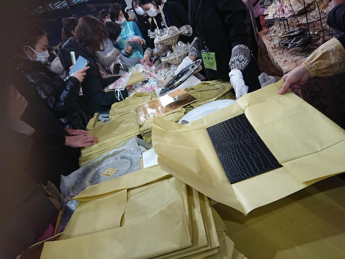 東京ドーム「テーブルウエアフェスティバル」へ_f0323446_19314245.jpg