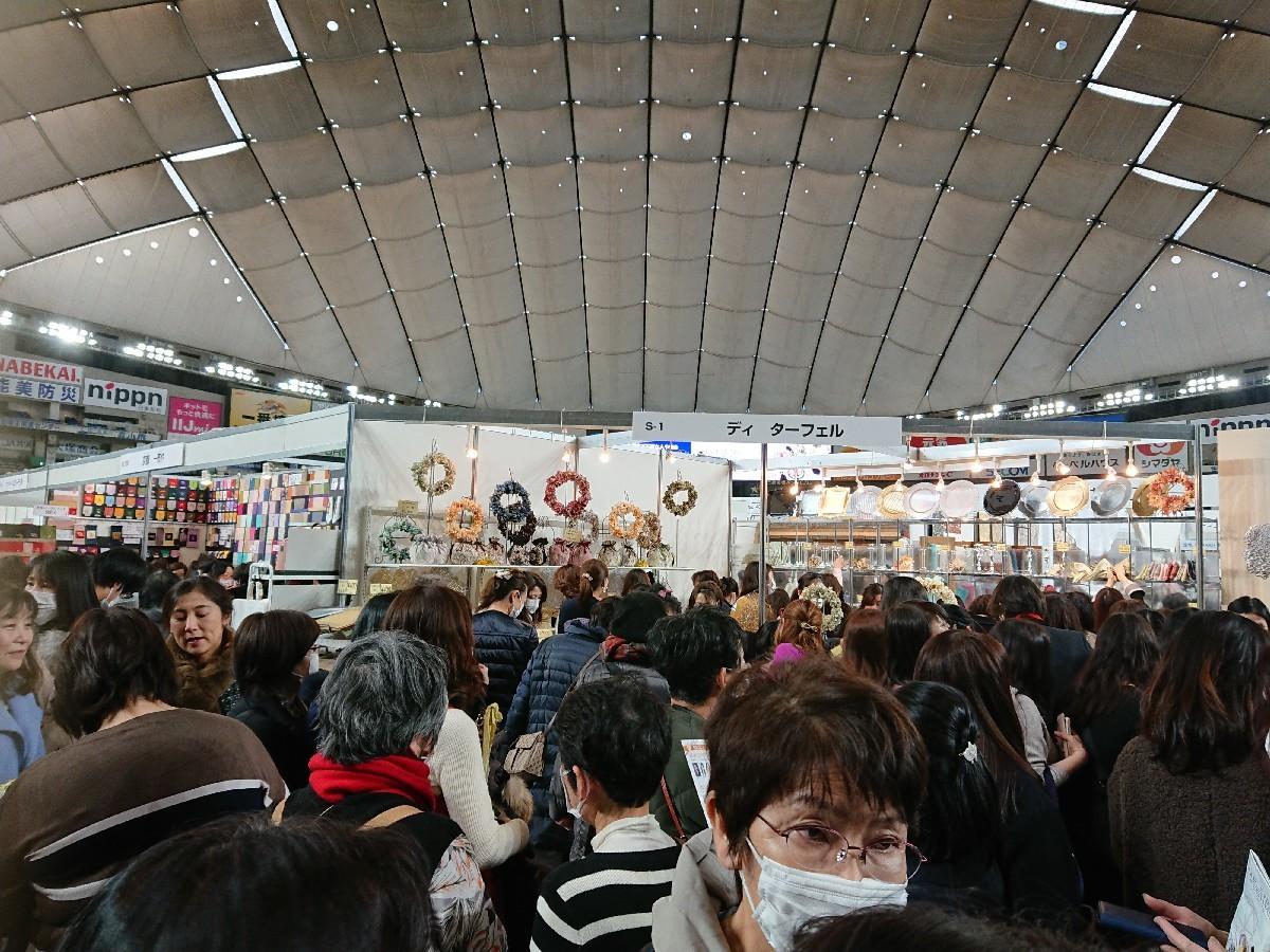 東京ドーム「テーブルウエアフェスティバル」へ_f0323446_19381777.jpg