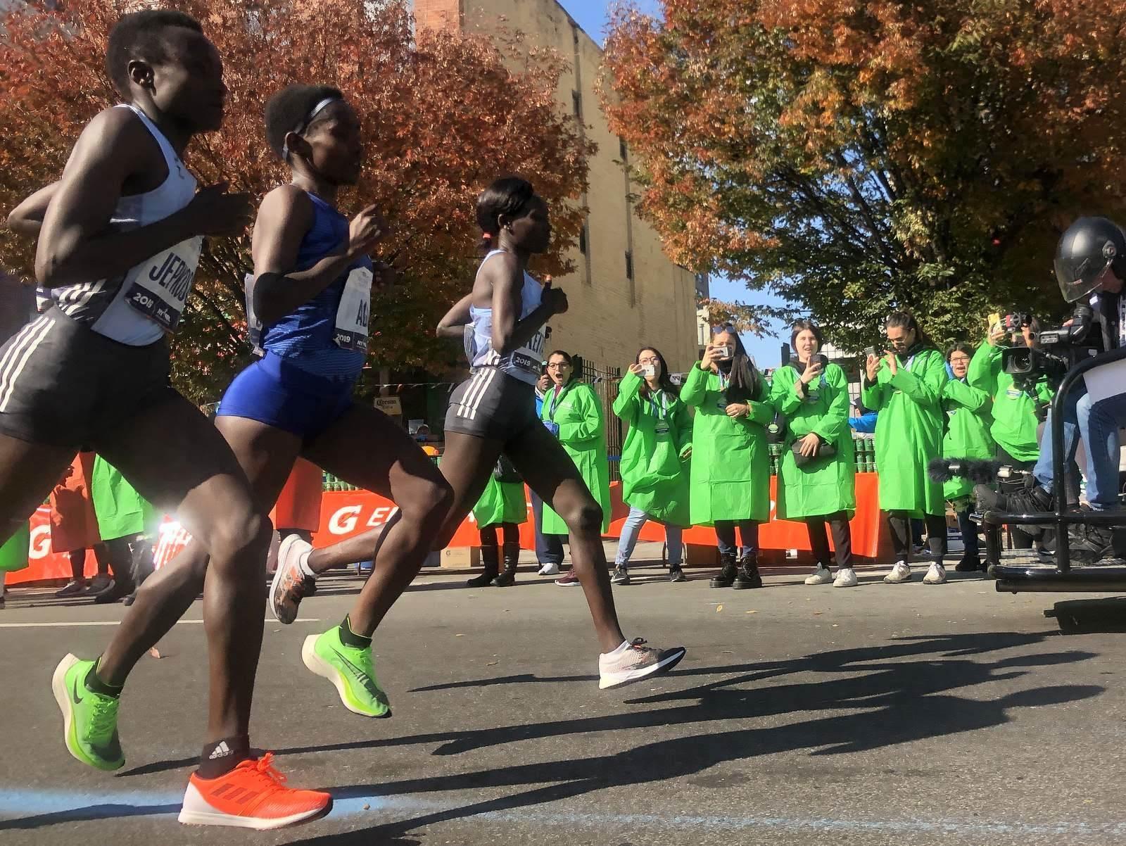 NYシティマラソン ボランティア活動_b0103758_20091152.jpg