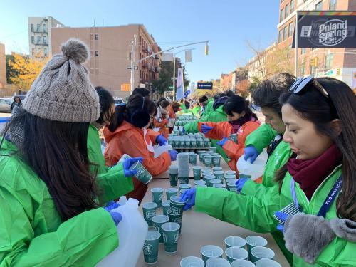 NYシティマラソン ボランティア活動_b0103758_20092420.jpg