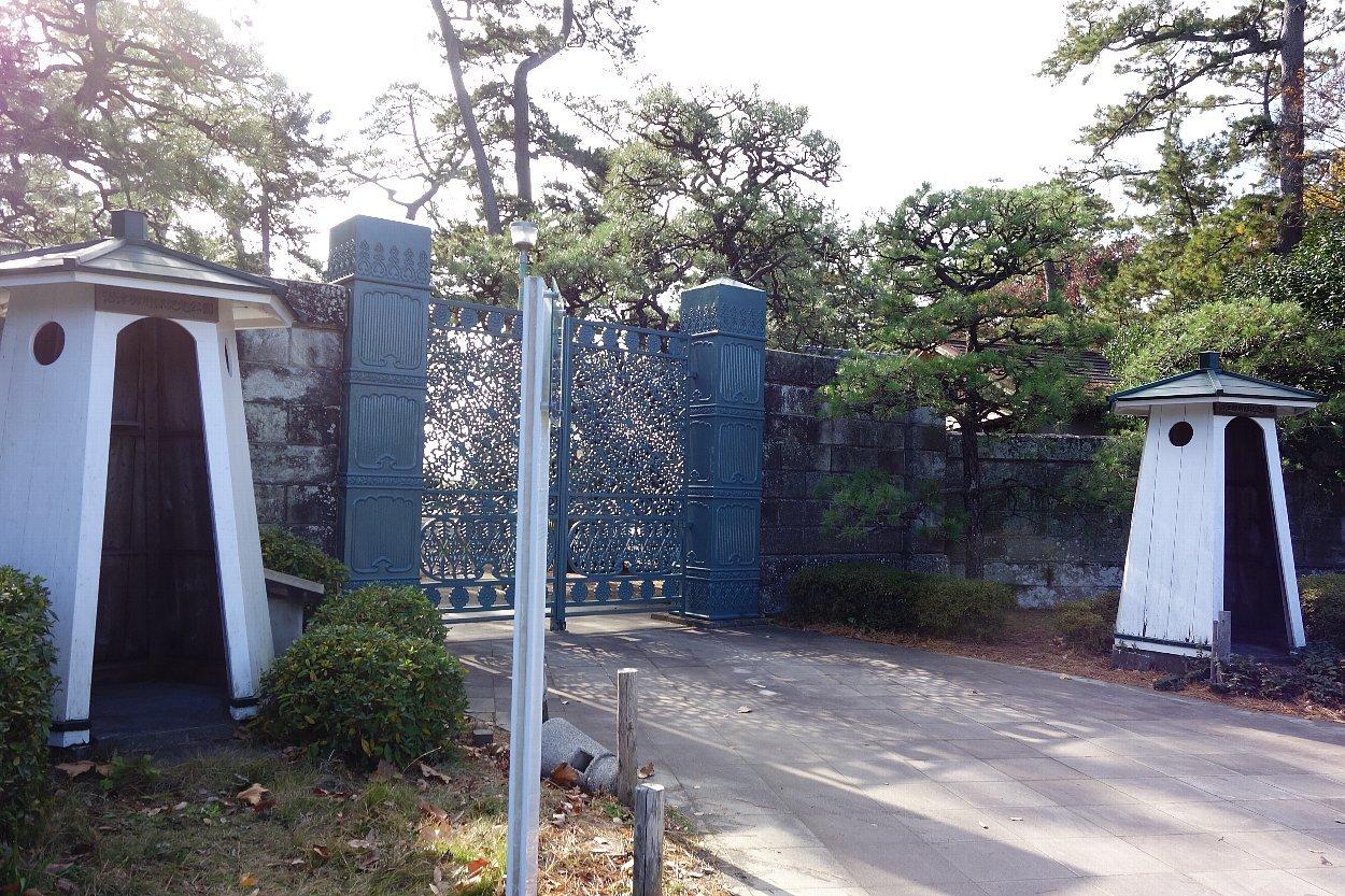 沼津御用邸記念公園 本邸跡_c0112559_08292316.jpg