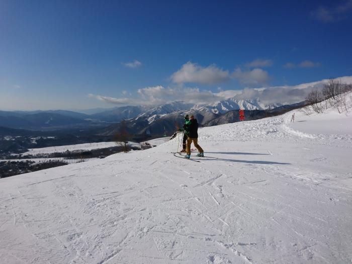 2月2日  白馬乗鞍スキー場_f0223068_16063028.jpg