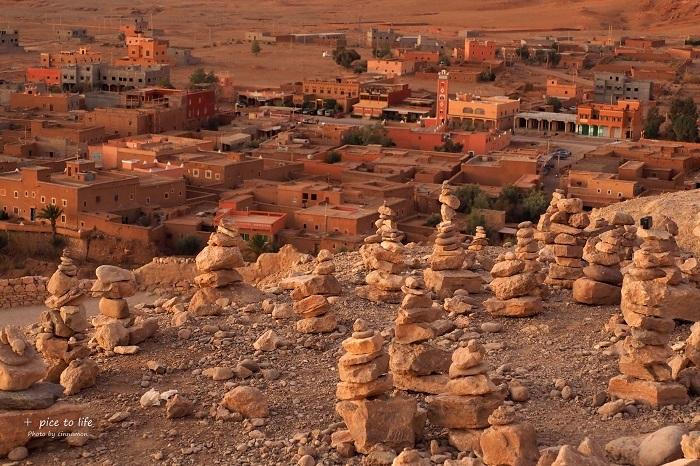Morocco travel #Ait Ben Haddou②_f0326278_17405432.jpg