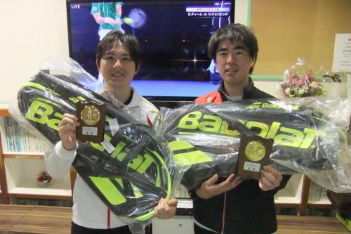 2020年2月2日(日)男子ダブルスオープントーナメント_b0158200_09461372.jpg