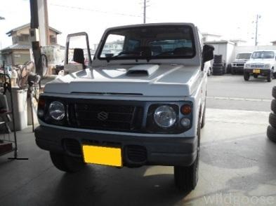 JA12Vジムニー 車検整備中(´O`)_c0213517_14575168.jpg