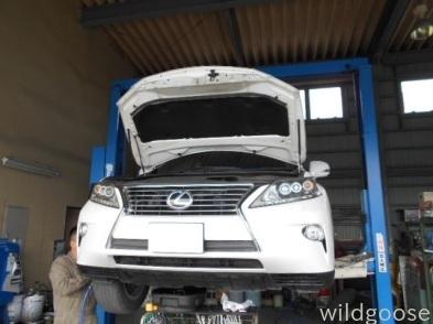 AGL10レクサスRX 車検整備中(^0^)/_c0213517_15291555.jpg