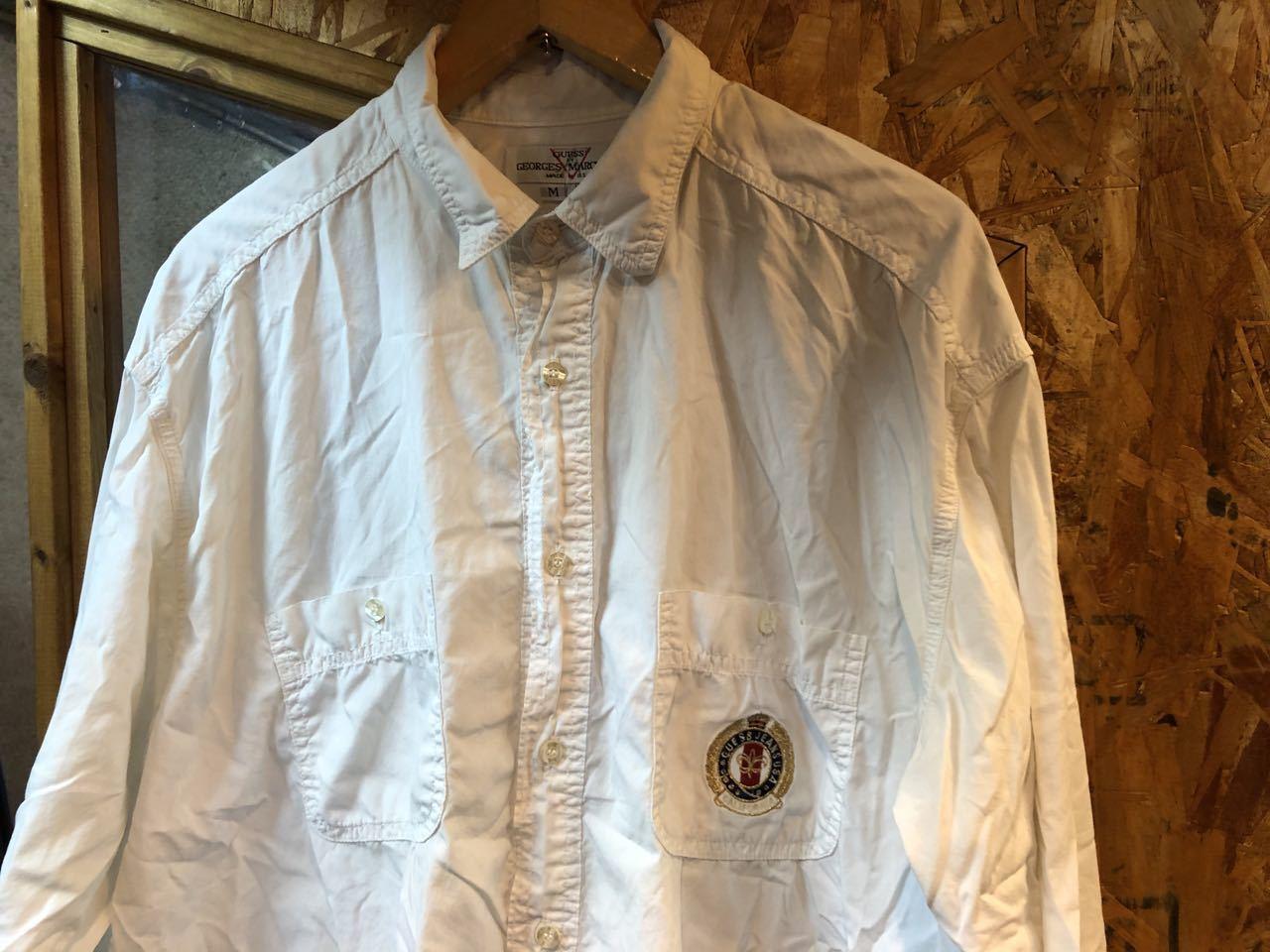 2月3日(月)入荷!GUESS  by GEOGES MARCIANO MADE IN U.S.A white shirts!!  白シャツ!_c0144020_13034719.jpg