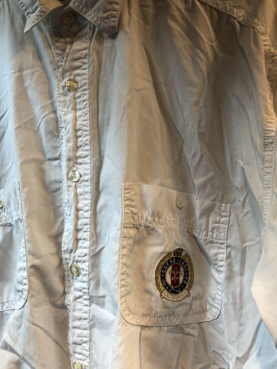 2月3日(月)入荷!GUESS  by GEOGES MARCIANO MADE IN U.S.A white shirts!!  白シャツ!_c0144020_13034967.jpg