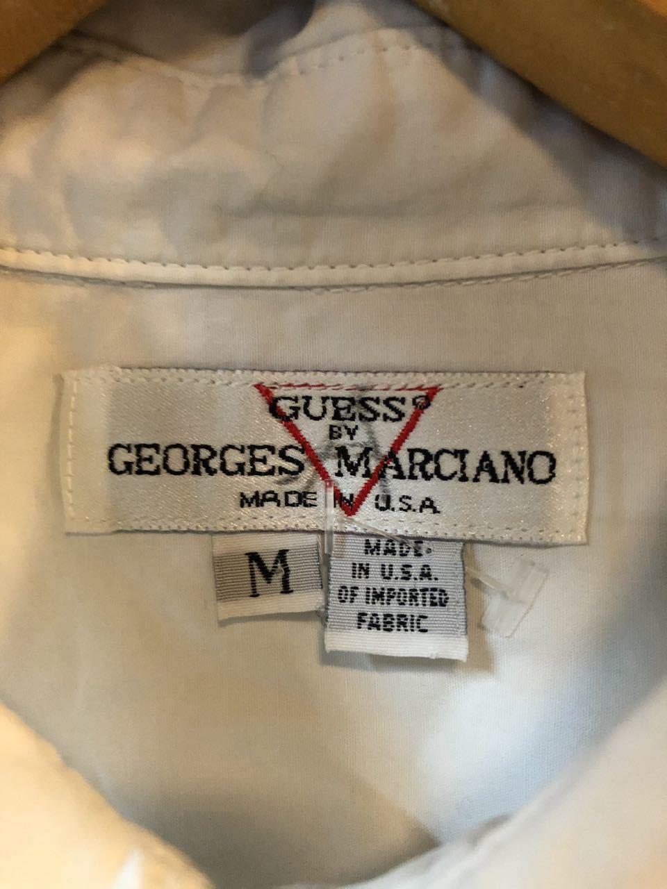 2月3日(月)入荷!GUESS  by GEOGES MARCIANO MADE IN U.S.A white shirts!!  白シャツ!_c0144020_13035126.jpg