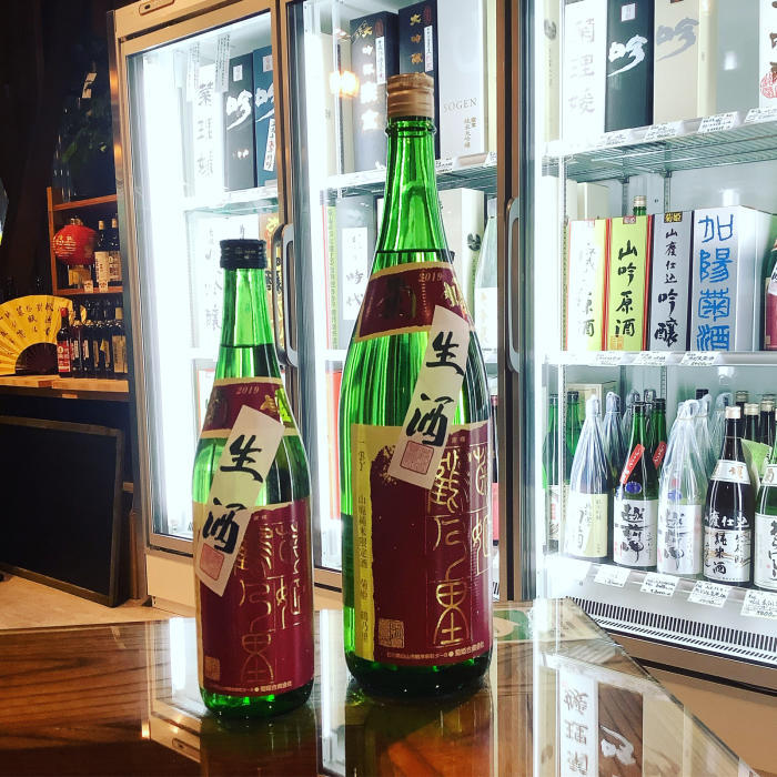 2019BY 菊姫 鶴乃里 生酒(純米酒) 入荷しました❗️_a0156636_18482405.jpg