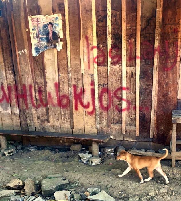 ラオスの旅 22  少数民族 モン族の村へ_a0092659_11485564.jpg