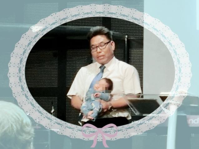 年末生まれた子の教会デビュー☆_f0234165_06514591.jpg