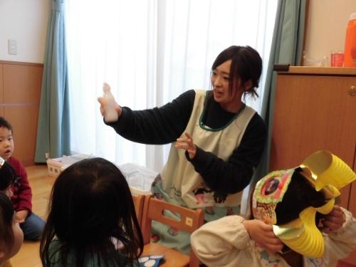 豆まき誕生会(1・2歳児)_c0352066_12022161.jpg