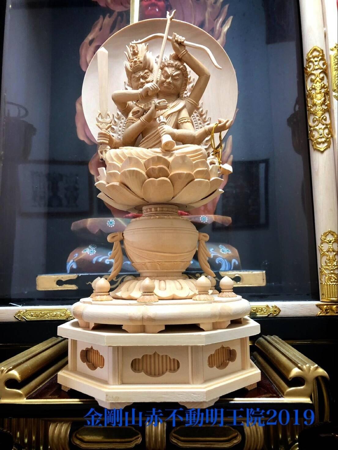 両頭愛染明王尊像_e0392772_19182574.jpg