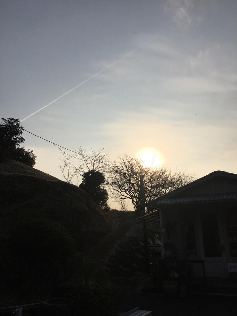 「節分の日の朝」&『裏山の梅の花と今年の薪ストーブ』_c0334574_19414260.jpeg