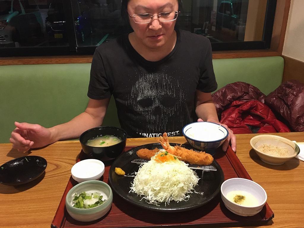 かつ敏 志木店 ビール飲まずのいきなり定食_d0061678_12160244.jpg