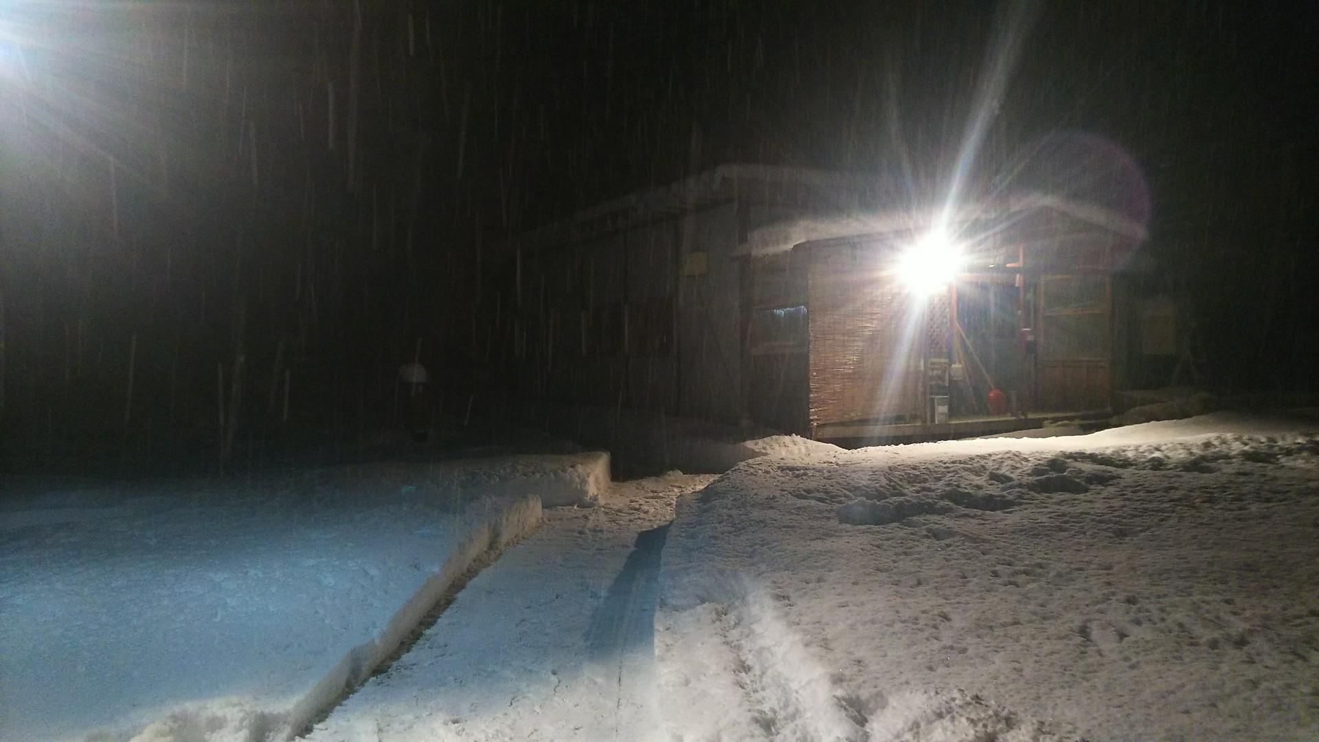 雪・・・降りました。_b0343293_22071350.jpg
