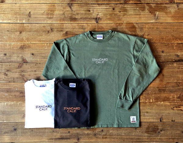 【DELIVERY】 STANDARD CALIFORNIA - Heavyweight  Long Sleeve T with Logo_a0076701_12425966.jpg