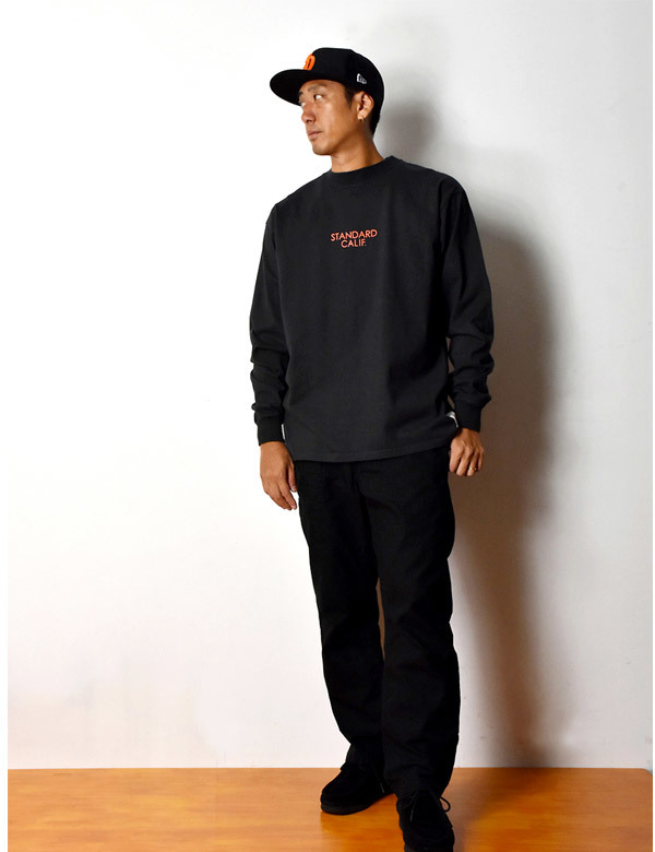 【DELIVERY】 STANDARD CALIFORNIA - Heavyweight  Long Sleeve T with Logo_a0076701_12455067.jpg
