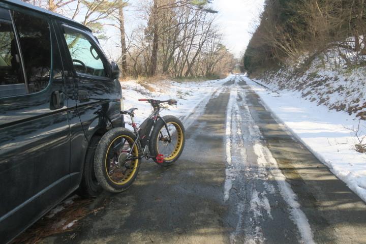 冬→雪→ファットバイクなのですが..._c0132901_17185624.jpg
