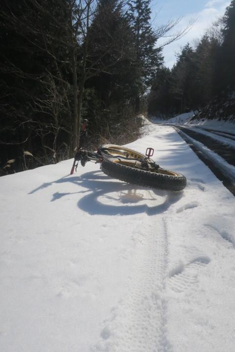 冬→雪→ファットバイクなのですが..._c0132901_17261218.jpg