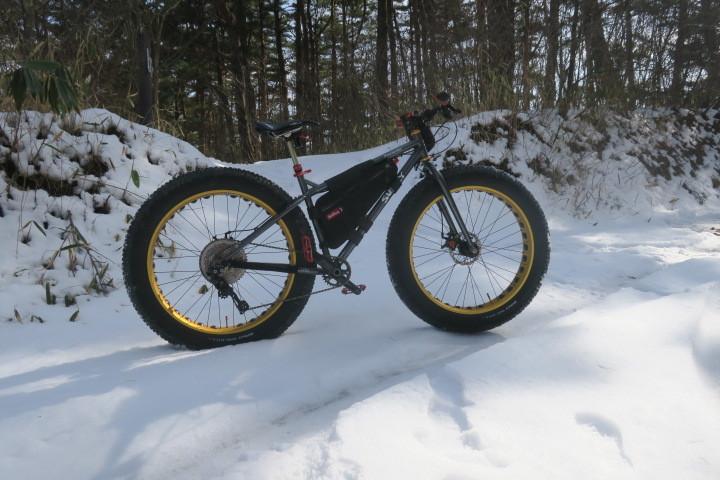 冬→雪→ファットバイクなのですが..._c0132901_17263134.jpg