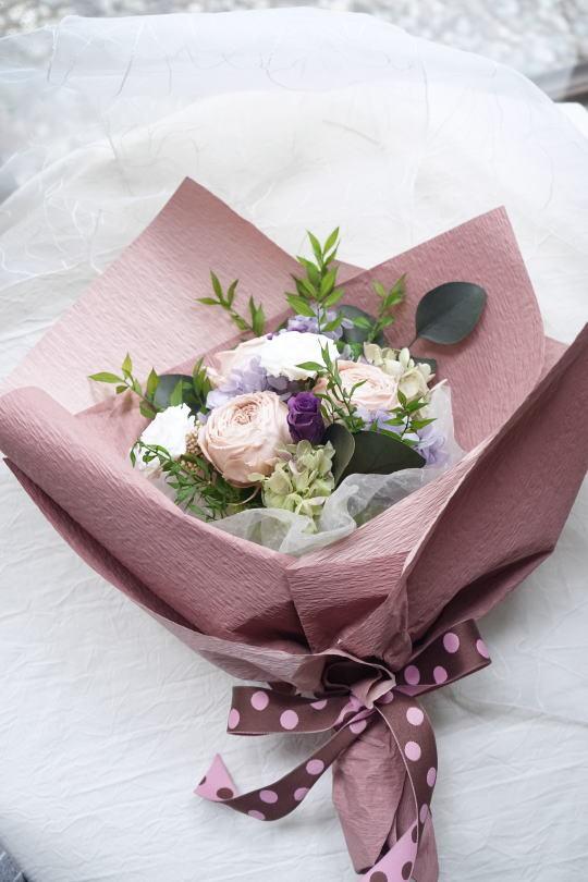 贈呈用花束!_a0136507_21320227.jpg