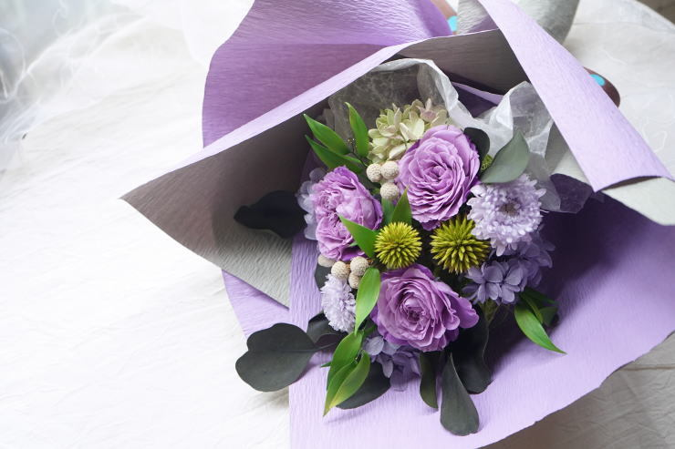 贈呈用花束!_a0136507_21322967.jpg