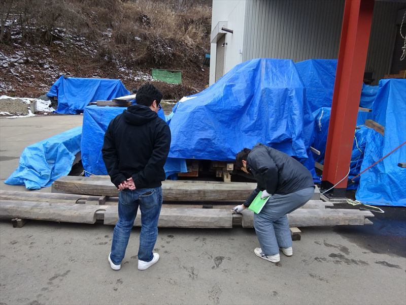 下太田 古材の家 進行中。_f0105112_04004756.jpg