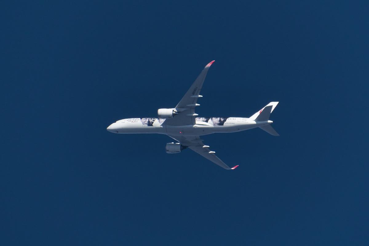 今回もまた羽田新ルート(昨日の南風アプローチ機と今日の北行き機)_d0137627_22455771.jpg
