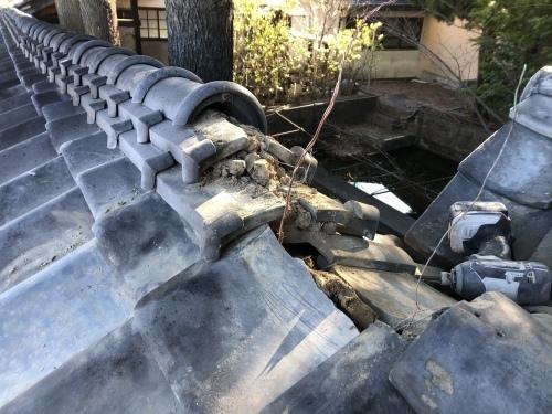 南アルプス市 本燻しの屋根 其の二_b0242734_20575533.jpeg