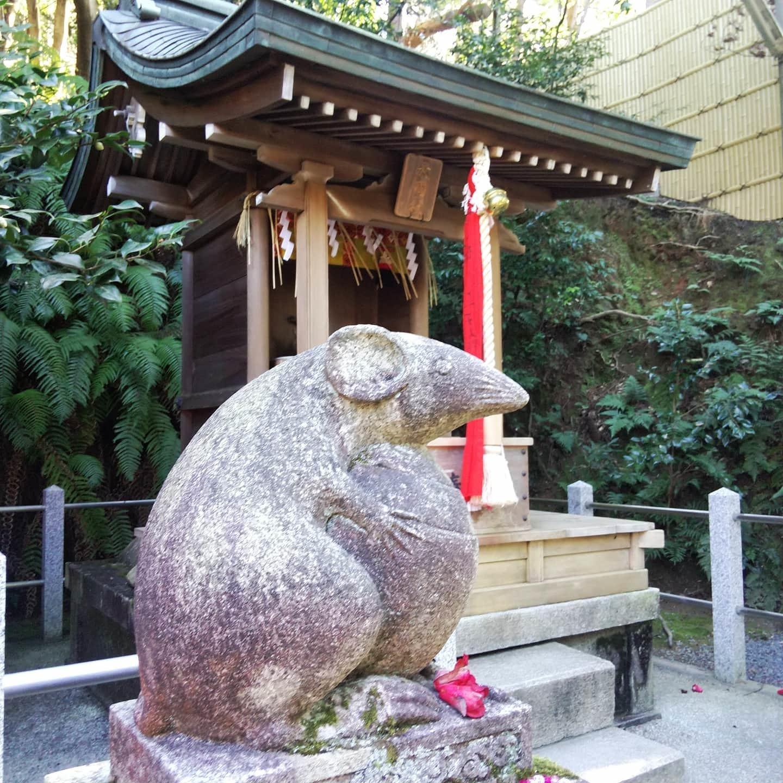 200204  「立春」狛ねずみのいる大豊神社へ初詣✨_f0164842_23071887.jpg
