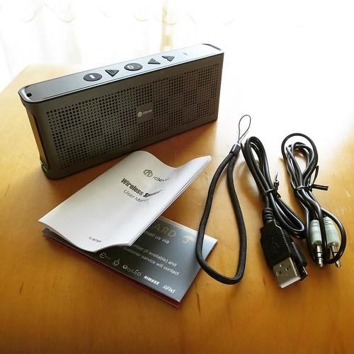 【AD】 濡れる場所でも高品質の音を!防水Bluetoothスピーカー_c0060143_12501946.jpg