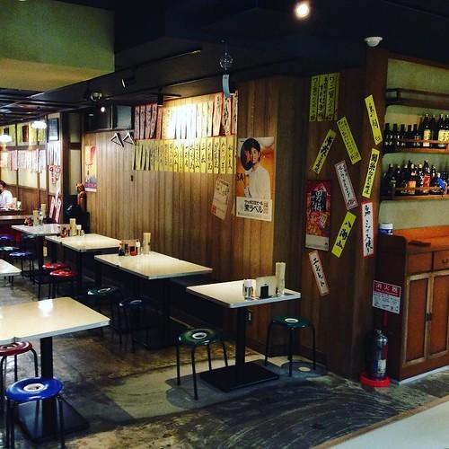 昭和レトロな焼きトン居酒屋「大喜利」は料理も充実していて良い感じ_c0060143_12545972.jpg