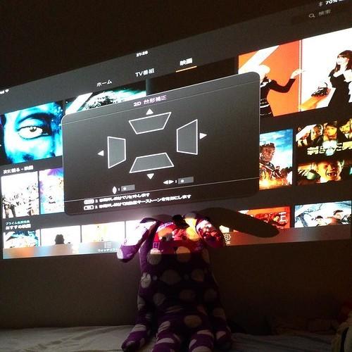 iPad & プロジェクターの組み合わせが映画鑑賞に最適すぎる_c0060143_14360051.jpg