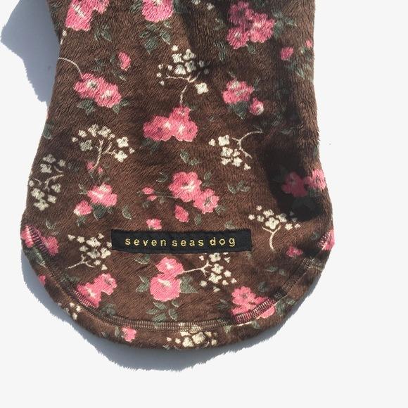 seven seas dog Hoodie flower mouton jacket   セブンシーズドッグ フーディー フラワームートン ジャケット_d0217958_17392012.jpg