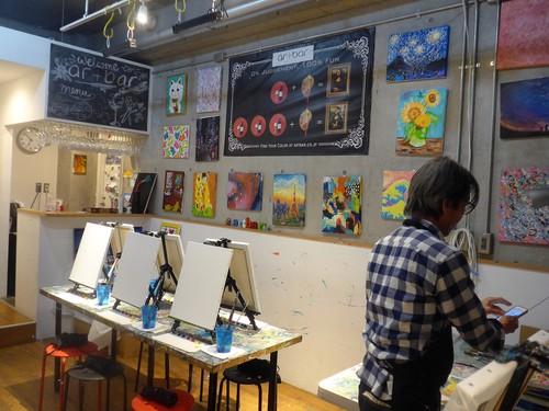 代官山「art bar TOKYO」へ行く。_f0232060_19562952.jpg
