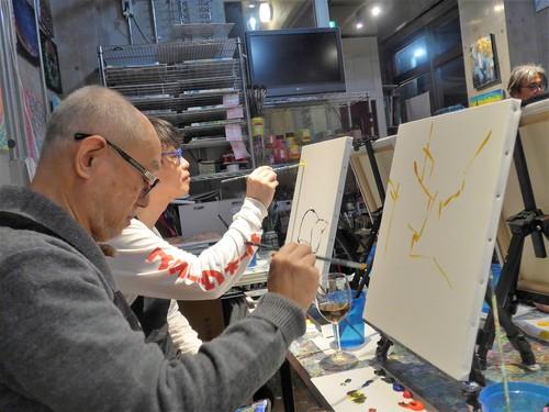 代官山「art bar TOKYO」へ行く。_f0232060_2051560.jpg