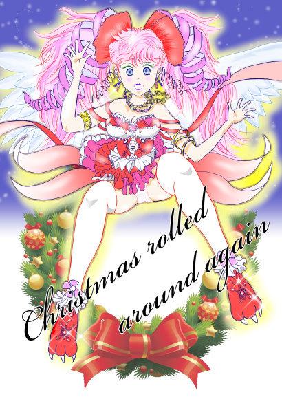 佐伯画廊さんのクリスマスイラスト☆_c0164365_22323173.jpg
