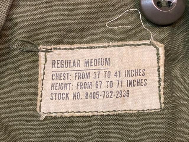 2月5日(水)マグネッツ大阪店ヴィンテージ入荷!!#6 U.S.Army Part1編!  M-65 1st & Liner LocalMade、JungleFatigue、Trouser!!_c0078587_2383100.jpg