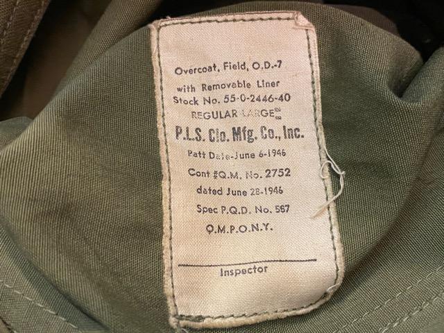 2月5日(水)マグネッツ大阪店ヴィンテージ入荷!!#6 U.S.Army Part1編!  M-65 1st & Liner LocalMade、JungleFatigue、Trouser!!_c0078587_250298.jpg