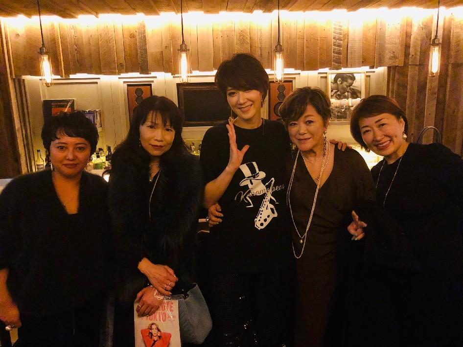 鳳稀かなめさん20周年アニバーサリーライブ@ブルーノート東京♪_d0339889_19173512.jpg