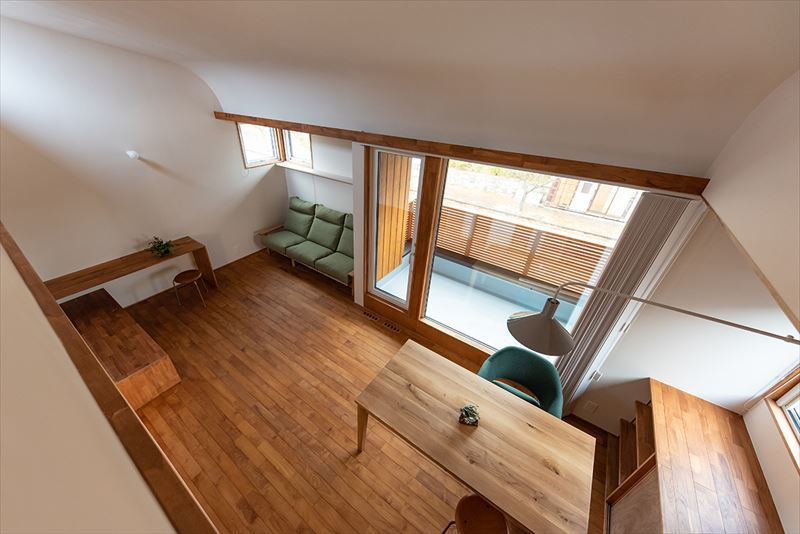 公園を独り占めできる2階リビングの家 竣工写真_b0349892_12051543.jpg